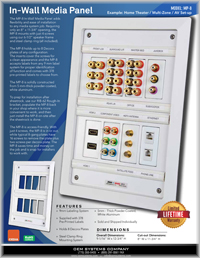 In-Wall Media Panel Catalog - Thumb