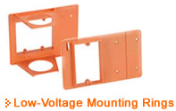 Low Voltage Mounting Rings