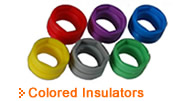 Pro-Wire Colored Insulators - Thumbnail