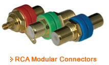 Pro-Wire RCA Modular Connectors - Thumbnail