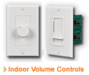 Pro-Wire Indoor Volume Controls - Thumbnail