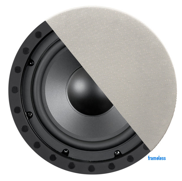 In-Wall / In-Ceiling Frameless 8 inch Subwoofer - SE-80SWf - In-Wall And In-Ceiling Frameless Subwoofer SE-80SWf OEM
