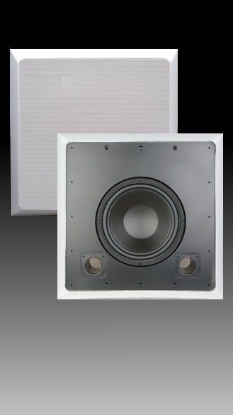 In-Wall 10 inch Stud Woofer - SE-10SW / SE-10SWD