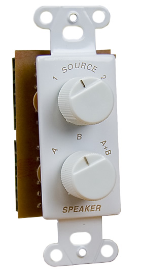 Source And Speaker Selector Switch