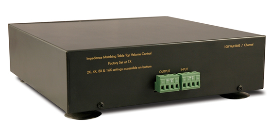 Indoor Rotary Tabletop Volume Control   Pro-Wire TT-IMP100WV