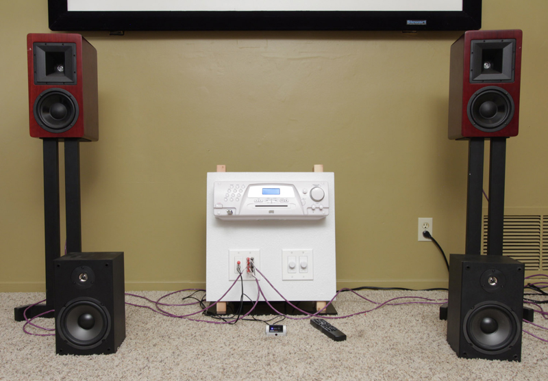 First And Foremost Was A Pair Of Hsu Research Bookshelf Speakers Longtime Test Speaker For Affordable